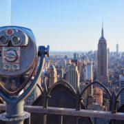 Top of the Rock bij Rockefeller Center New York