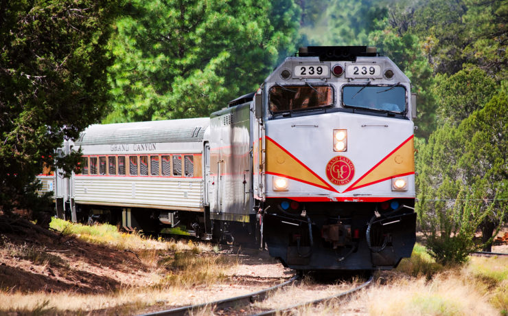 De mooiste treinroutes in Amerika