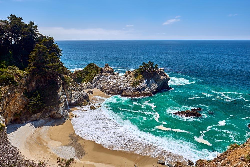 Stranden Amerika