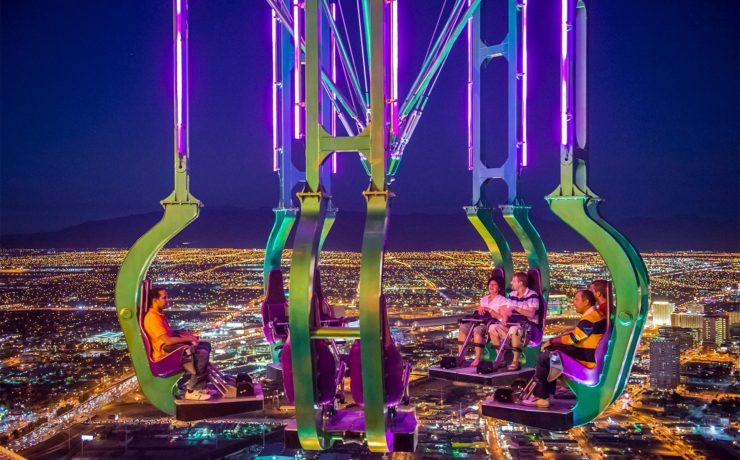 De 'Insanity' attractie van Stratosphere in Las Vegas