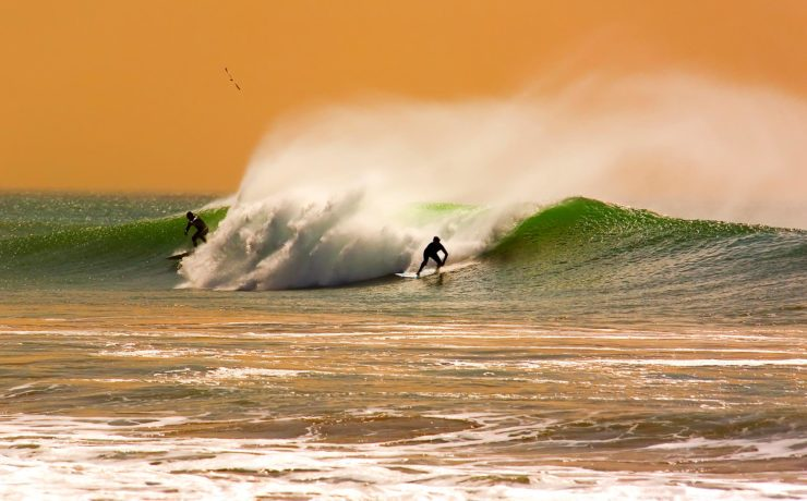 Surfen in Amerika