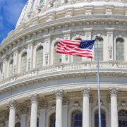 De rotunda van het Capitool in Washington DC
