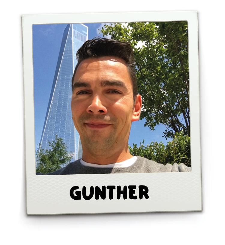 Hey!USA medewerker Gunther Meeusen