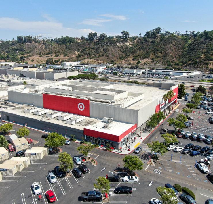 Een filiaal van Target in Amerika