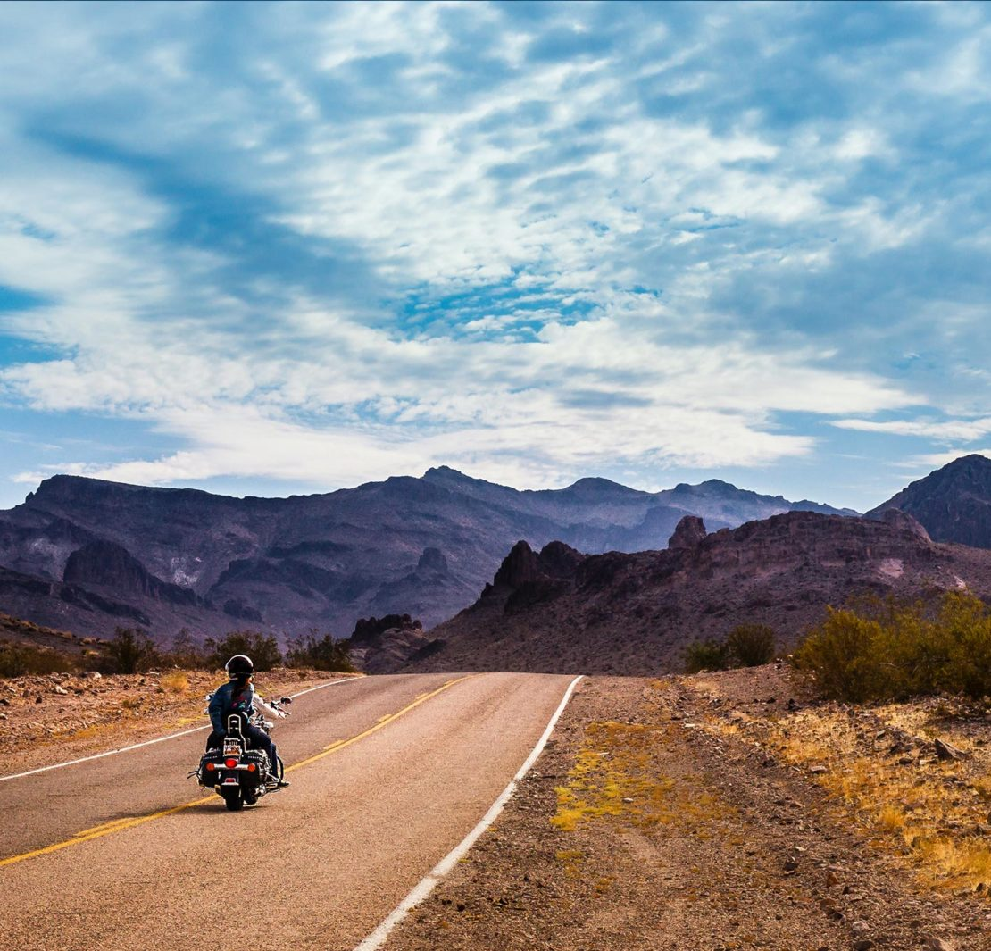 Motorreis Amerika
