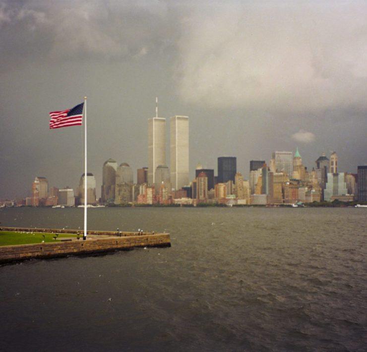 De Twin Towers op 10 september, een dag voor 9/11