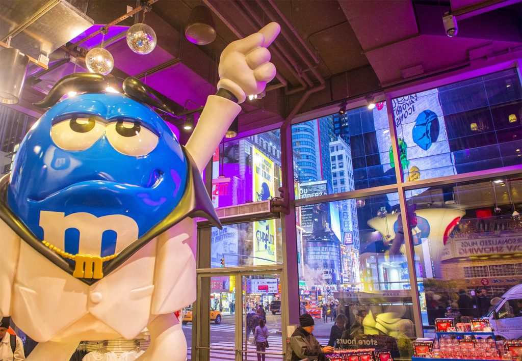 M&M's World Times Square